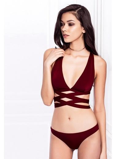 Esotte Beachwear Bikini Bordo